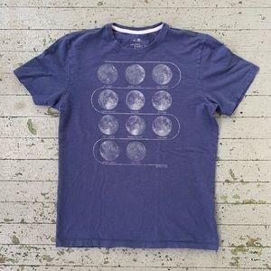 Banana Republic Moon Cycle T-Shirt Men's M